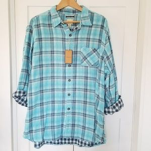 NWT G.H. Bass & Co Men's shirt XL